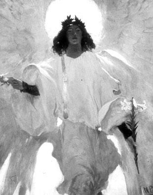 Howard Pyle's Easter Angel